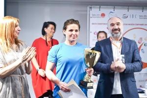 Jūratė Gudaitė (Pabaltijos šalių masažo čempionato I vietos laimėtoja)